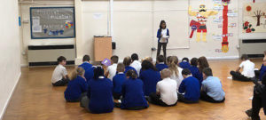 Year 6 gave each other motivational speeches
