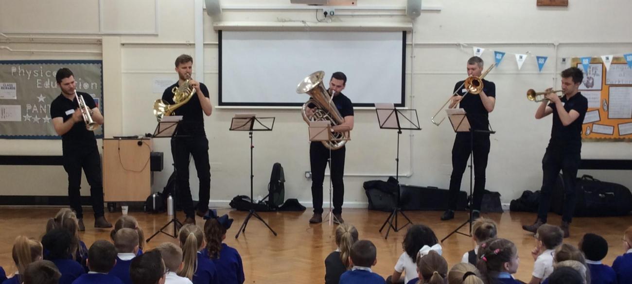 Cobalt Brass- Brass Quintet