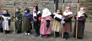 Year 2 at Bolton Castle