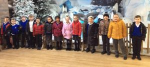Our trip to see Santa Claus at Tong Garden Centre